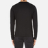 Michael Kors Men's Long Sleeve Sleek MK Crew Top - Black: Image 3