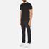 Michael Kors Men's Sleek Mk Crew Neck T-Shirt - Black: Image 4