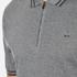 Michael Kors Men's Double Collar Zip Polo Shirt - Ash Melange: Image 5