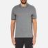 Michael Kors Men's Double Collar Zip Polo Shirt - Ash Melange: Image 1