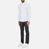 Michael Kors Men's Slim Fit Landon Long Sleeve Shirt - Ocean: Image 4