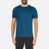 Michael Kors Men's Sleek MK Crew T-Shirt - Pacific Blue: Image 1