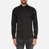 Michael Kors Men's Slim Long Sleeve Shirt - Black: Image 1