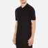 Versace Collection Men's Shoulder Detail Polo Shirt - Nero: Image 2