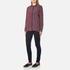 Ganni Women's Donaldson Silk Shirt - Cabernet Stripe: Image 4