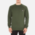 Maison Kitsuné Men's Tricolor Patch Sweatshirt - Khaki: Image 1