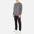 Maison Kitsuné Men's Tricolor Patch Sweatshirt - Grey Melange: Image 4