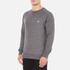 Maison Kitsuné Men's Tricolor Patch Sweatshirt - Grey Melange: Image 2