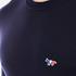 Maison Kitsuné Men's Crew Neck Virgin Wool Jumper - Navy: Image 5