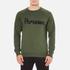 Maison Kitsuné Men's Parisien Sweatshirt - Khaki: Image 1