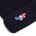 Maison Kitsuné Men's Ribbed Beanie Hat - Navy: Image 3