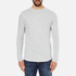 Selected Homme Men's Ludvig Long Sleeve Top - Light Grey Melange: Image 1
