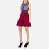 Three Floor Women's Crème de Cassis Dress - Bordeaux/Plum/Midnight Blue: Image 2