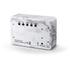 Gingko Brick Marble Click LED Clock - White: Image 2