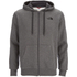 The North Face Men's Open Gate Full Zip Hoody - Medium Grey Heather: Image 1