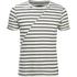 Produkt Men's Deko Asymetric Stripe T-Shirt - Cloud Dancer: Image 1