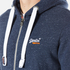 Superdry Men's Orange Label Zip Hoody - Nautical Navy Grit: Image 5