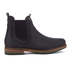 Barbour Men's Cullercoats Leather Chelsea Boots - Black: Image 1