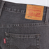 Levi's Women's 501 CT Tapered Fit Jeans - Fading Coal: Image 5