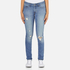 Levi's Women's 711 Skinny Fit Jeans - Goodbye Heart: Image 1