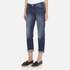 Levi's Women's 501 CT Tapered Fit Jeans - Roasted Indigo: Image 2