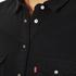 Levi's Women's Long Sleeve Iconic Western Dress - Black Ink: Image 4