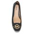 MICHAEL MICHAEL KORS Women's Fulton Leather Mocc Ballet Flats - Black: Image 3