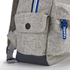 Superdry Men's Trinity Montana Rucksack - Light Grey Marl: Image 6