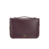 The Cambridge Satchel Company Women's Cloud Bag with Handle - Damson: Image 6