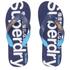 Superdry Men's Scuba Flip Flops - Blue Marl/French Navy: Image 1