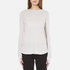 Helmut Lang Women's Long Sleeve Thumb Hole T-Shirt - White Melange: Image 1
