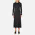 Helmut Lang Women's Double Rib Knit Detached Cuff Dress - Heather Grey: Image 1