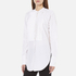 Helmut Lang Women's Raw Tuxedo Shirt - White/Multi: Image 2