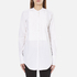 Helmut Lang Women's Raw Tuxedo Shirt - White/Multi: Image 1