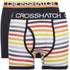 Crosshatch Men's Refraction 2-Pack Boxers - Black: Image 1