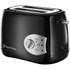 Russell Hobbs 18800 Buxton 2 Slice Toaster - Black: Image 1