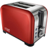 Russell Hobbs 22391 2 Slice Canterbury Toaster - Red: Image 1
