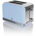 Swan ST19010BLN 2 Slice Toaster - Blue: Image 1