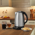 Swan SK25040N 1.8L Temperature Controlled Kettle - Stainless Steel: Image 2