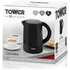 Tower T10010 1L Jug Kettle - Black: Image 7