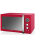 Swan Retro 25L Digital Combi Microwave with Grill - Red: Image 1