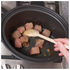 Morphy Richards Black Sear and Stew Slow Cooker 3.5L - Stainless Steel: Image 4