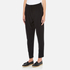 Paisie Women's Draped Boyfriend Trousers - Black: Image 2