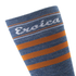 Santini California Eroica High Profile Wool Socks - Blue: Image 3