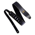 Batman Logo (Metal) Leather Guitar Strap: Image 1