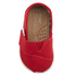 TOMS Toddlers' Seasonal Classics Slip-On Pumps - Red: Image 3