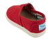 TOMS Toddlers' Seasonal Classics Slip-On Pumps - Red: Image 4