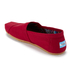 TOMS Men's Core Classics Slip-On Pumps - Red: Image 4