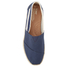 TOMS Men's University Classics Slip-On Pumps - Navy Stripe: Image 3