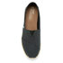 TOMS Men's Seasonal Classic Slip-On Pumps - Black Linen with Rope: Image 3